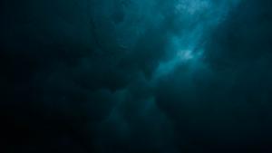 Dark blue sky - dark patterns
